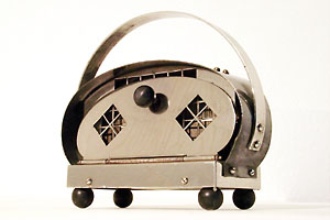 SIEMENS SCHUCKERT nickel plated toaster